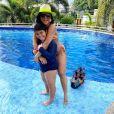 Mileide Mihaile falou que pensa em aumentar a família