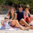 Veja momentos de final de semana de Patricia Abravanel com filhos