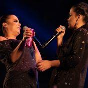 Maiara e Maraisa valorizam corpos com looks all black em show drive-in. Veja!