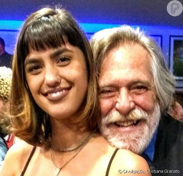 Namorada de José de Abreu, Carol Jogger é 52 anos mais jovem que o ator