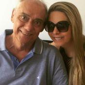 Namorada de Marcelo Rezende sofre com ausência de jornalista: '3 anos sem você'