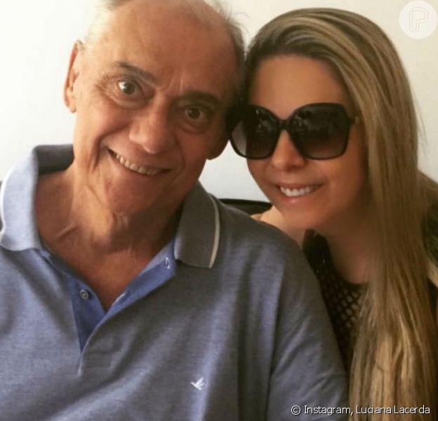 Namorada de Marcelo Rezende, Luciana Lacerda lamentou 3 anos sem o jornalista