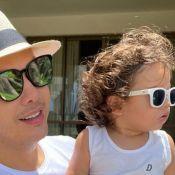 Wesley Safadão mostra crescimento do filho Dom em sequência de fotos. Veja!