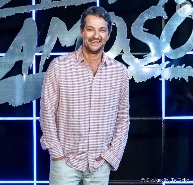 Marcelo Serrado emagrece 4 kg para viver dublê em novela da Globo