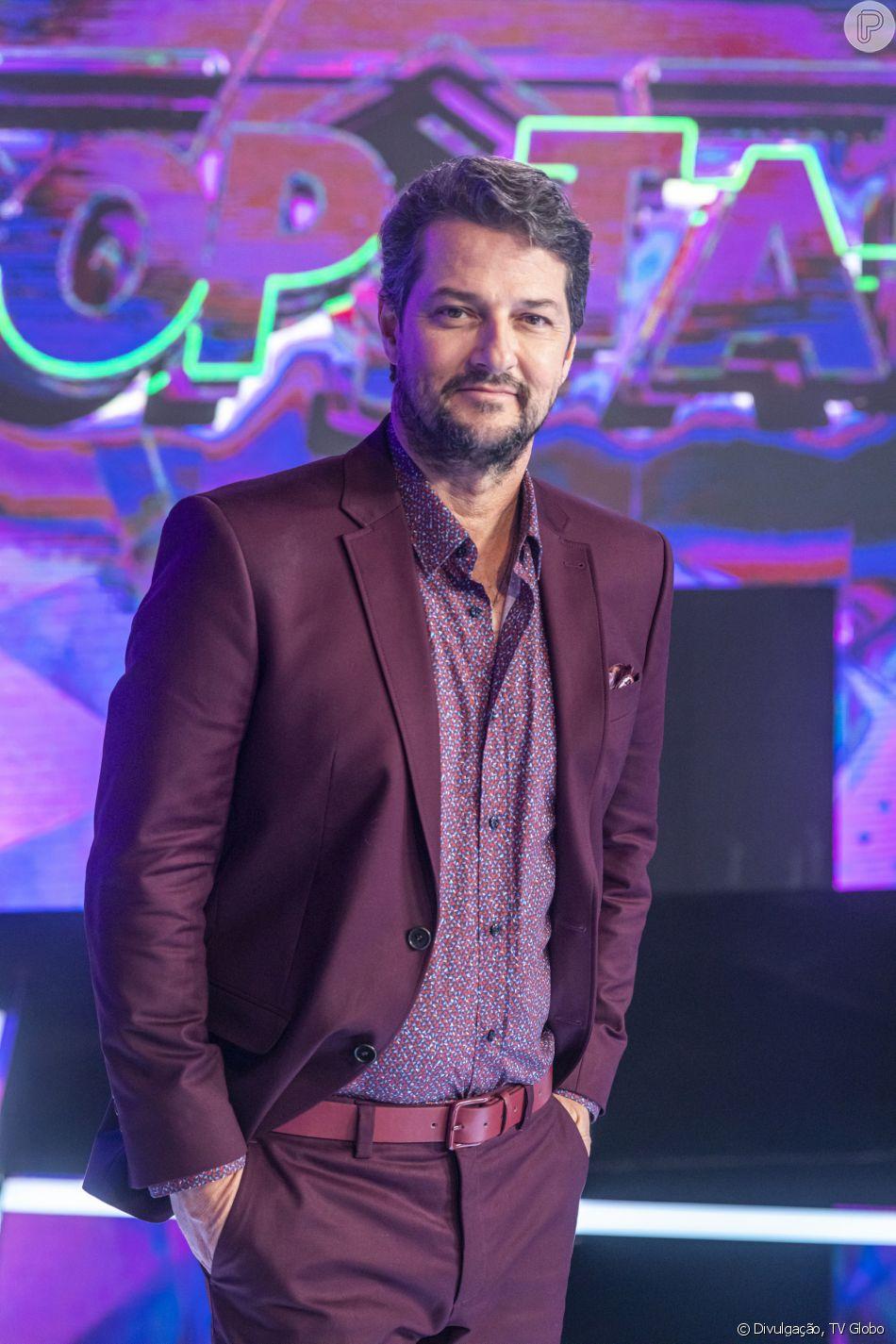 Marcelo Serrado vai estrear na 'Escolinha do Professor Raimundo' como Ptolomeu