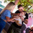Filha de Zé Neto e Natália Toscano ganha festa em meio a natureza