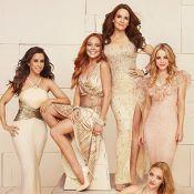 Lindsay Lohan se reúne com elenco de 'Meninas Malvadas' para ensaio
