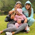 Ticiane Pinheiro destacou sintonia entre as filhas