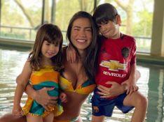 Filhos de Adriana Sant'Anna confundem mãe com Andressa Suita. Saiba motivo!