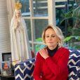 Ana Maria Braga garantiu que sempre teve certeza de que iria sobreviver ao câncer