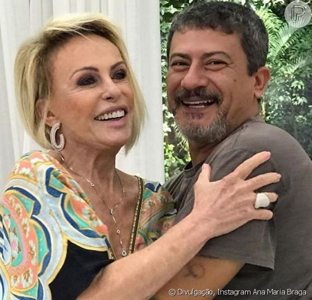 Ana Maria Braga falou sobre o amigo Tom Veiga, intérprete do Louro José, no 'Fantástico' deste domingo, 8 de novembro de 2020