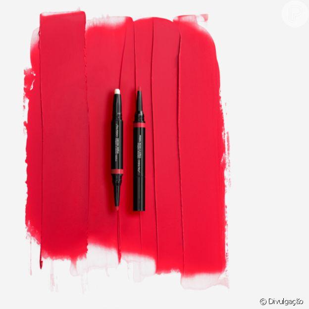 Shiseido tem lápis labial com dupla função: primer e delineador