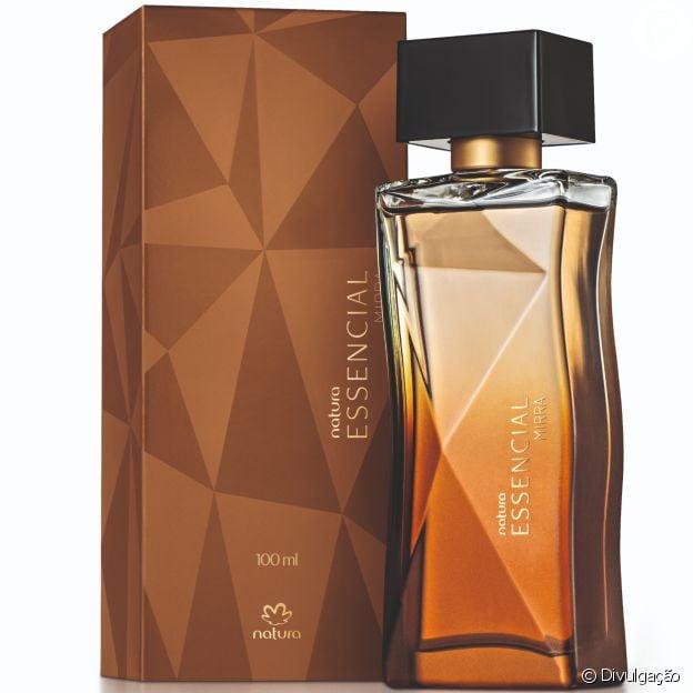 O perfume Essencial, de Natura, agora tem novas fragrâncias com mirra oriental e brasileira