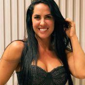 Graciele Lacerda deixa corpo em evidência em aerolook: 'Pra quem pode'