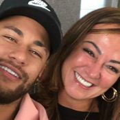 Mãe de Neymar ganha declaração em foto com ex e modelo explica relação. Veja!