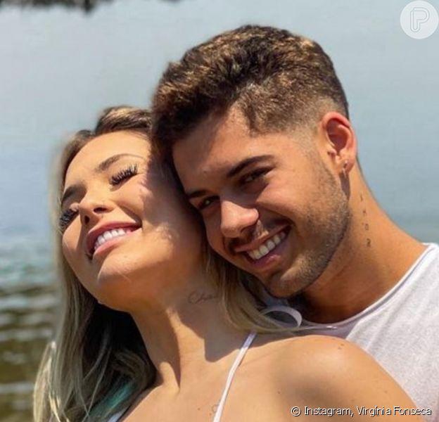 Noivo de Virgínia Fonseca, grávida de 3 meses, Zé Felipe compôs música para o bebê, cujo sexo será conhecido em 28 de novembro de 2020