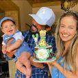 Biah Rodrigues assumiu que nem pensa em viajar sem o filho