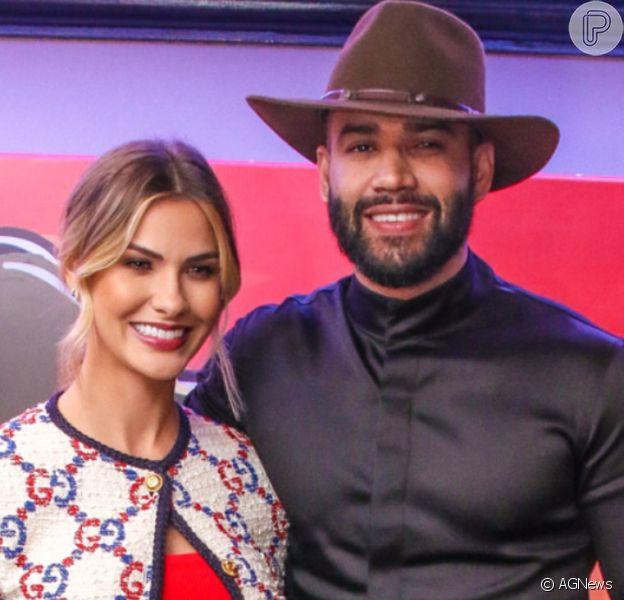 Gusttavo Lima surpreendeu Andressa Suita com pedido de separação em outubro de 2020: 'Eu fui acordada e comunicada que não dava mais pra gente continuar como casal'