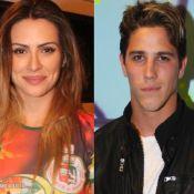 Cleo Pires e Rômulo Arantes Neto se beijam no cinema e jantam juntos, no Rio