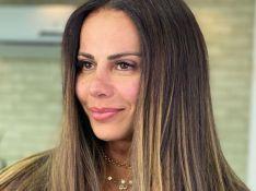 Viviane Araújo exibe mudança no rosto após micropigmentação na boca e sobrancelha