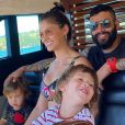 Andressa Suita e Gusttavo Lima são pais de Gabriel - nascido em 2017 - e Samuel - em 2018