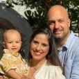 Grávida pela segunda vez do marido, Leonardo Lessa, Camilla Camargo compartilha vários momentos da gestação