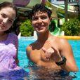 Sophia Valverde mata a saudade de Igor Jansen em surpresa