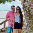 Namorada de Ximbinha,  Karen Kethlen mora com guitarrista em Belém, no Pará