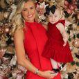 Roberto Justus e Ana Paula Siebert curtem 1º Natal com a filha, Vicky