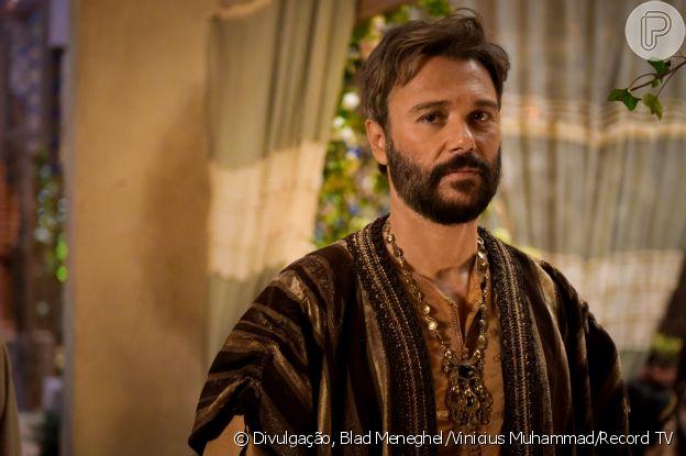 Terá (Angelo Paes Leme) é o marido de Amat (Branca Messina). Ele chega em Ur disposto a provar que pode vencer na vida, na novela 'Gênesis'