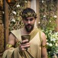 Ibbi-Sim (Felipe Roque) é o rei da cidade de Ur na novela 'Gênesis'
