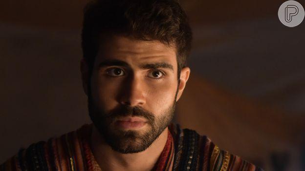 'Gênesis': José (Juliano Laham) é o filho preferido de Jacó (Petronio Gontijo)