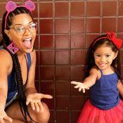 Filha de Juliana Alves corta cabelo, adota franja e famosas elogiam: 'Linda'. Vídeo!