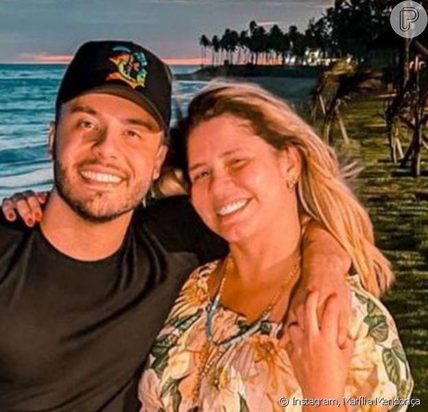 Marília Mendonça zoou o namorado, Murilo Huff, com pergunta sobre tatuagem