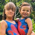 Filha de Ticiane Pinheiro, Rafaella Justus e Manuella foram comparadas aos pais