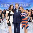 Filha de Silvio Santos, Silvia Abravanel comentou na foto do novo visual do pai
