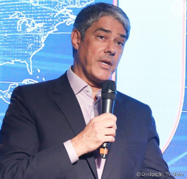William Bonner movimenta a web por desabafo no 'Jornal Nacional'