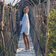 Sasha Meneghel curte resort ecologicamente sustentável em Tulum no México