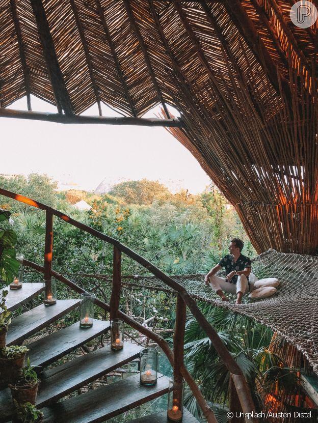 O resort de luxo Azulik fica em Tulum