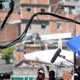 Roberta Rodrigues teve sorte: Maria Vanúbia comeu um picolé em cena, no dia em que a sensação térmica no Rio de Janeiro chegou a 47ºC