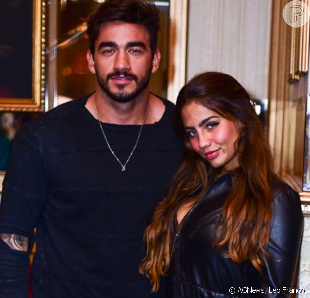 Ex-BBB Gui Napolitano assume namoro com Cathe Bascoy