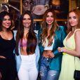 Veja foto de famosas que participaram de encontro de ex-BBBs