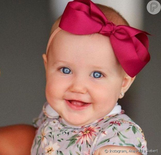 Filha de Ana Paula Siebert encantou web pela beleza em foto: 'Bebê mais linda'