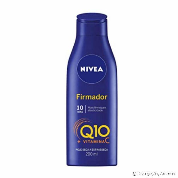 Loção firmadora Vitamina C e Q10, da Nivea