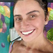Giovanna Antonelli chama atenção por barriga sarada em biquíni: 'Mocinha de 17'
