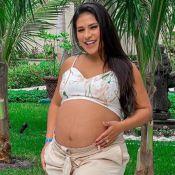 Cantora Simone emagrece no pós-parto após ganhar 23 kg na gravidez: 'Já perdi 8'