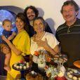 Giselle Itié e Guilherme Winter se separaram pouco após o nascimento do filho, Pedro Luna