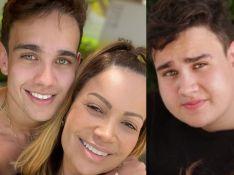 Filho de Solange Almeida aparece 70kg mais magro em foto após cirurgia. Veja!