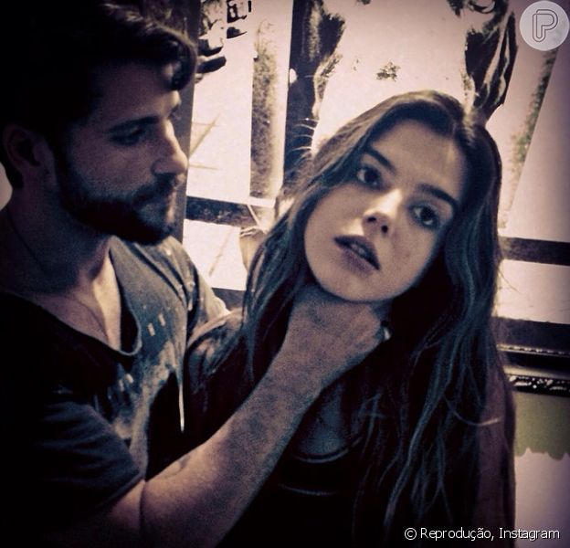 Bruno Gagliasso brinca com Giovanna Lancellotti no Instagram: 'Menos uma atriz no mundo', escreveu o ator, neste sábado, dia 15 de novembro de 2015