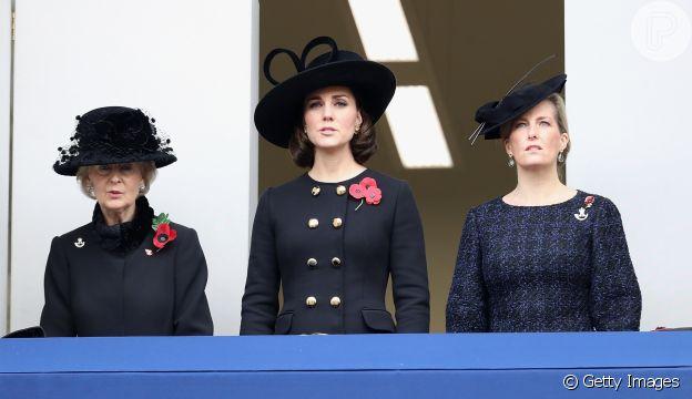 Kate Middleton havia usado o mesmo casaco em 2017, quando estava grávida de Louis